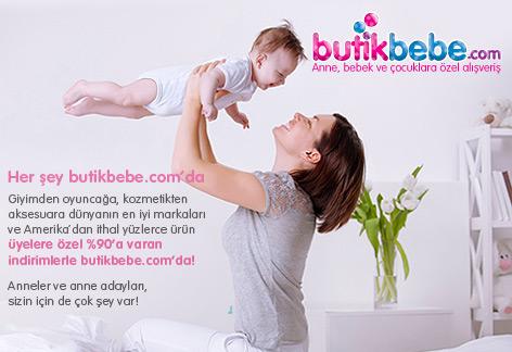 ButikBebe.com Anne Bebek ve Çocuklara Özel Alışveriş Kulübü