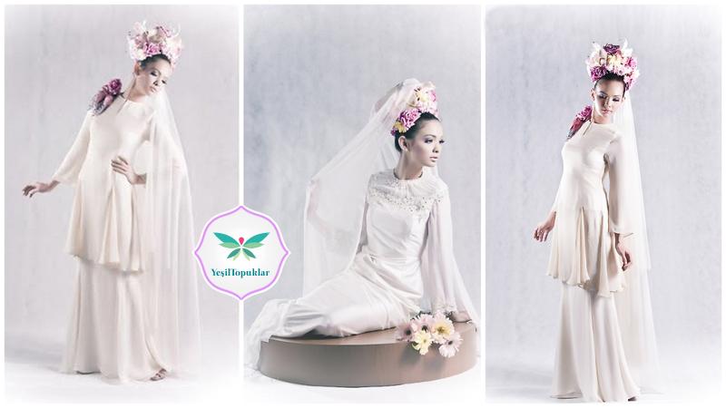 2013 Tesettür Gelinlik Modelleri