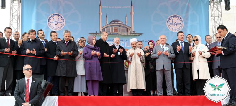 Ahmet Hamdi Akseki Camii Dualarla İbadete Açıldı