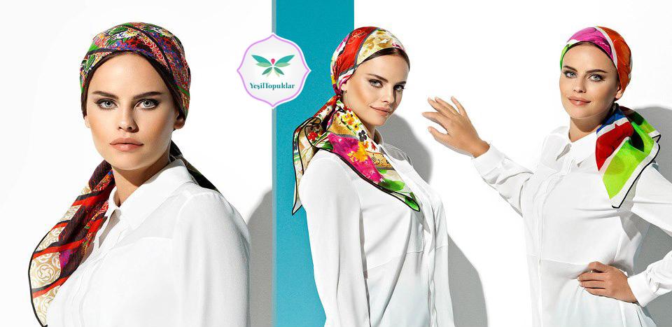 Aker 2013 Eşarp Modelleri ''Yaz Serinliği'' Serisi