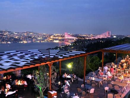 Ulus Cafe, İstanbul'un Şehir Terası