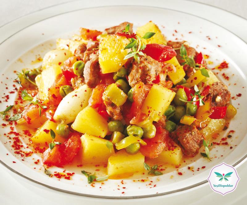 Etli-Sebze-Kebabı