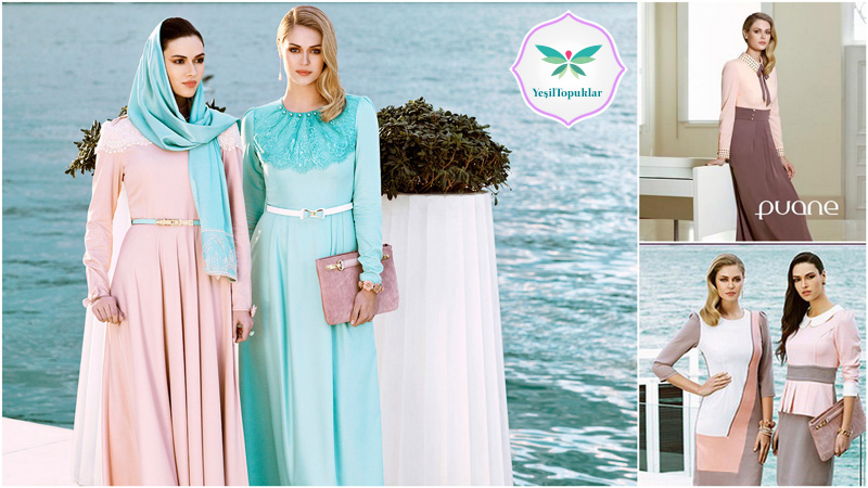 Puane 2013 İlkbahar-Yaz Tesettür Giyim Modelleri