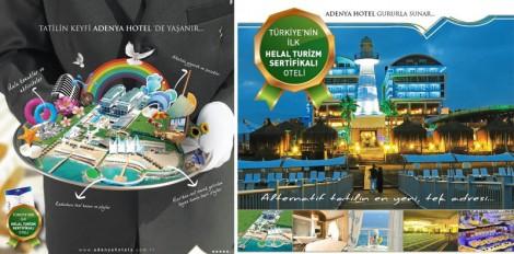 Türkiye'nin İlk Helâl Turizm Sertifikalı Oteli Adenya Otel