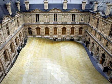 Louvre Müzesi'nden Uçan Çatı