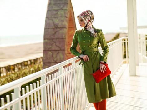 Zühre Tesettür Giyim 2013 İlkbahar-Yaz Kap Modelleri