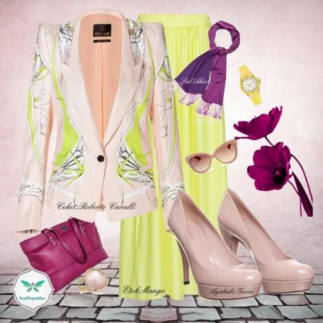 Yaz Günlerine Uygun Tesettür Giyim Kombinleri