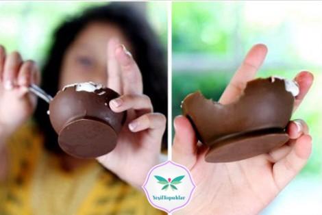 Çikolata Kasesinde Dondurma Keyfi