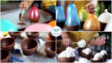 Çikolata Kasesinde Dondurma Keyfi (2)