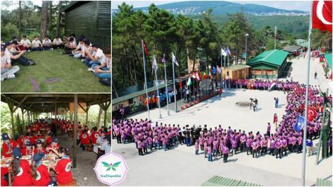 İbb'den Çocuklara Ücretsiz İzcilik Kampı