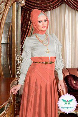 27e7f1e8aa26c Alvina 2013 Tesettür Abiye Elbise Modelleri-5