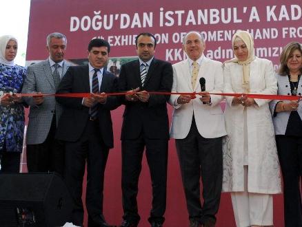 Doğu'dan İstanbul'a Kadın Eli Sergisi Sultanahmet Meydanı'nda