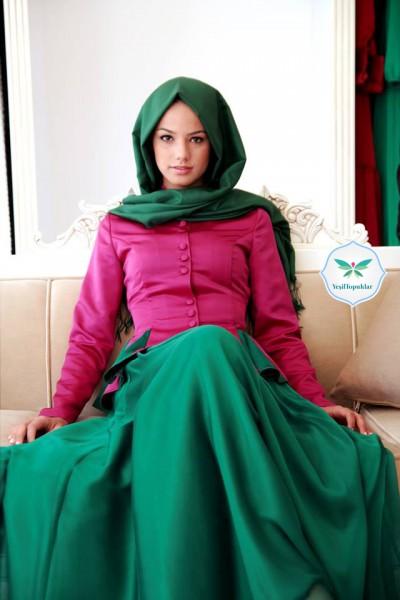 Kavin by Kuaybe Gider 2013 Tesettür Elbise ve Etek Modelleri