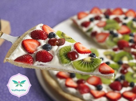 Meyveli-Pizza