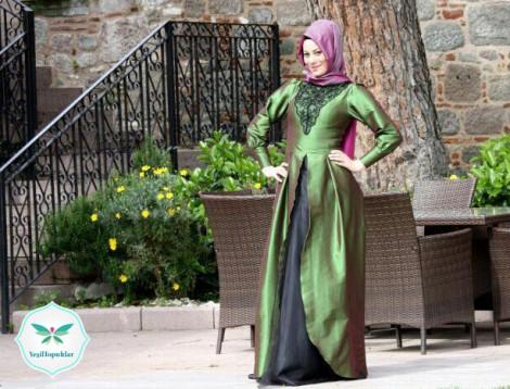 Minel Aşk Butik 2013 Tesettür Abiye Modelleri