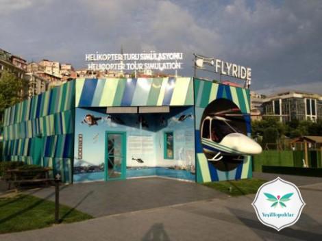 Minyatürk'te Helikopterle İstanbul ve Türkiye Turu