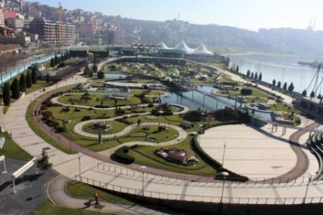 Miniatürk'te Helikopterle İstanbul ve Türkiye Turu