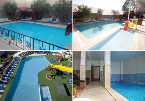 Bodrum İnanç Otel Havuzları
