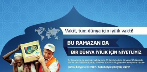 Bir Dünya İyilik İçin Niyetliyiz! Çünkü Vakit İyilik Vakti!