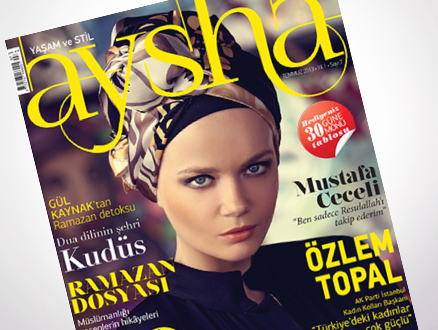 Bu Ay Aysha Dergisi Dopdolu