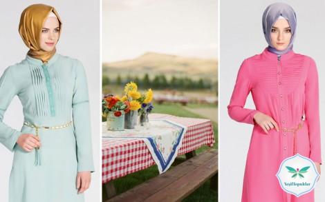 Tesettür Giyim Yazlık Stil Önerileri 2013