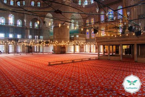 Eyüp Sultan Cami İçi