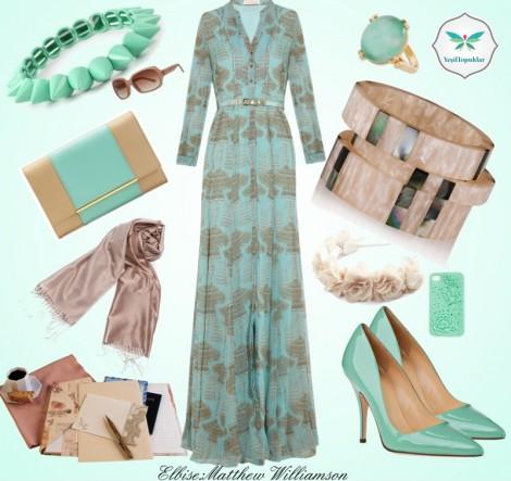 Günlük Elbise Kombini