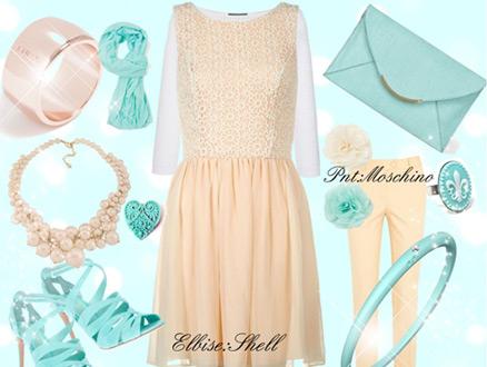 Pastel Bir Elbise; Şıklık ve Zerafet Kombini