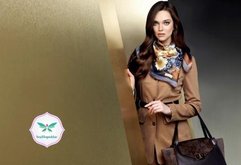 Aker 2013- 2014 Sonbahar Kış Tesettür Giyim Modelleri