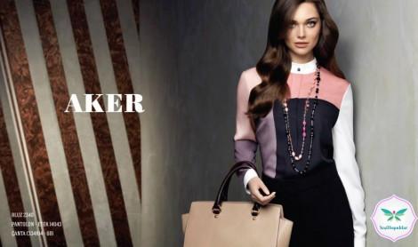 Aker 2013-2014 Sonbahar Kış Tesettür Giyim Modelleri (7)
