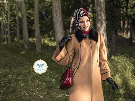 Armine 2013-2014 Sonbahar Kış Tesettür Giyim Modelleri