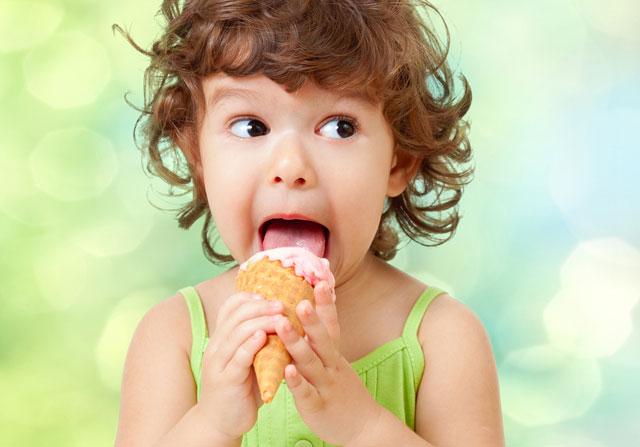 Dondurma Nasıl Yenmeli Çocuklara Faydalı mı