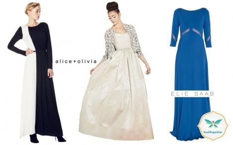 Tesettür Abiye Elbise Modelleri 2013