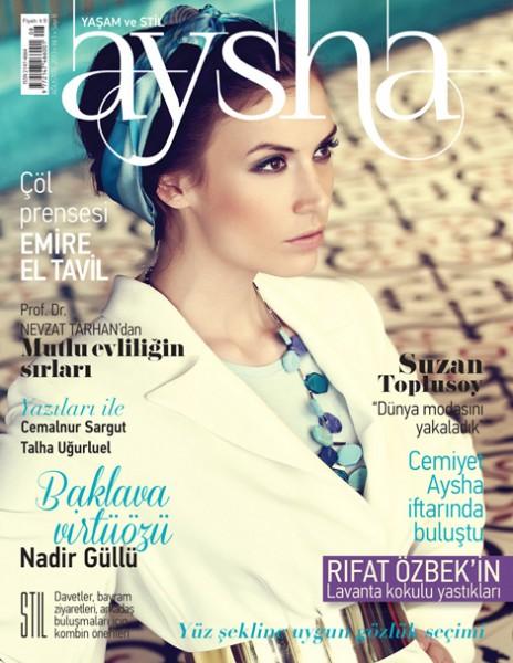 Aysha Dergisi Ağustos Sayısı
