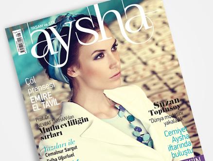 Aysha Dergi Ağustos Sayısı Bayilerde!