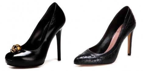 Topuklu Siyah Ayakkabı Modelleri