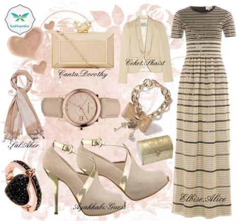 Yaza Özel Tesettür Giyim Kombini