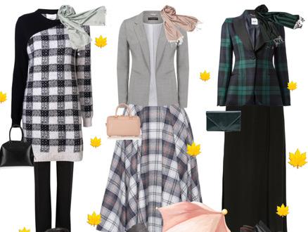 Sonbahar Trendi Ekose Kıyafetler Nasıl Kombinlenir?