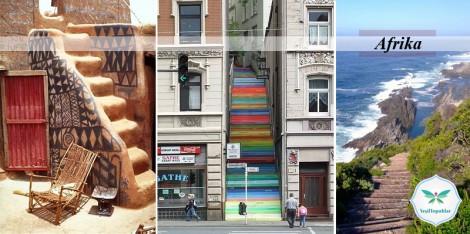 Dünya Şehirlerinden Merdiven Fotoğrafları