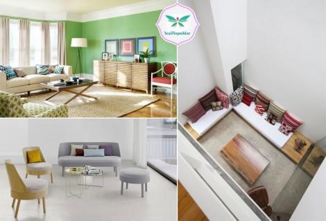 Eviniz İçin İlham Verici Oturma Odası Dekorasyon Önerileri