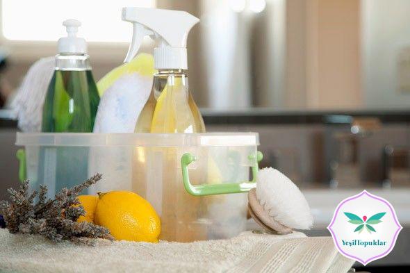 Mutfak İçin Doğal Temizlik Tüyoları