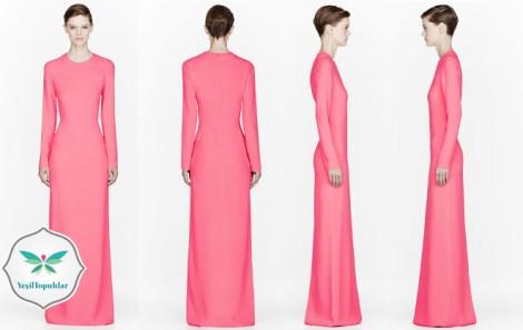 Tesettür Abiye Elbise Modelleri 2013 2014