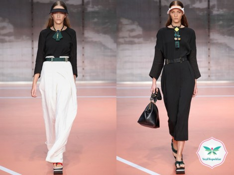 Tesettür Giyim Uzun Etek, Elbise Modelleri 2014