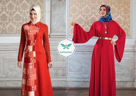 Armine Kırmızı Elbise Modelleri