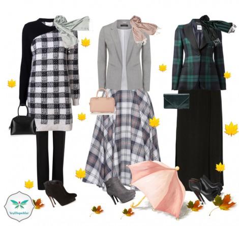 Ekose Elbiseler Nasıl Kombinlenir?