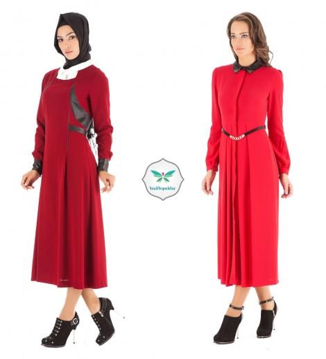 Kayra Kırmızı Elbise Modelleri
