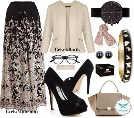 Tesettürlü Bayanlara Özel Ofis Kıyafet Kombini