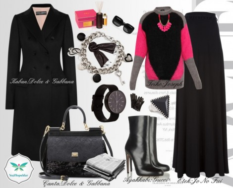 Dolce Gabbana Sonbahar Kombini