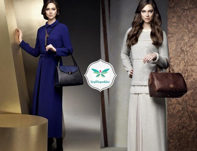 2013 – 2014 sonbahar kış tesettür kıyafet modelleri
