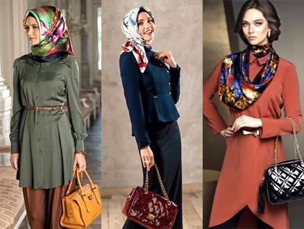 Sonbahara Özel Her Ortamda Giyilebilecek Tesettür Kıyafetler